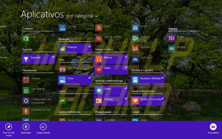 Captura de Tela 4 720x450 - Deixe o visual do Windows 8.1 mais próximo ao do Windows 7
