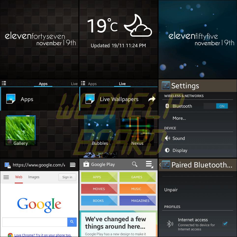 Galaxy Gear Null ROM - Tutorial e teste: ROM Null para o Galaxy Gear smartwatch