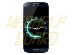 Tutorial: Instalar CyanogenMOD 10.1 ROM en el Samsung Galaxy S4 (GT-i9505)