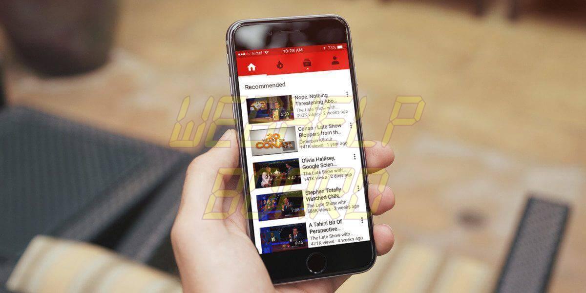 youtube iphone 1200x600 - Tutorial: Como baixar vídeos do YouTube no celular sem aplicativo