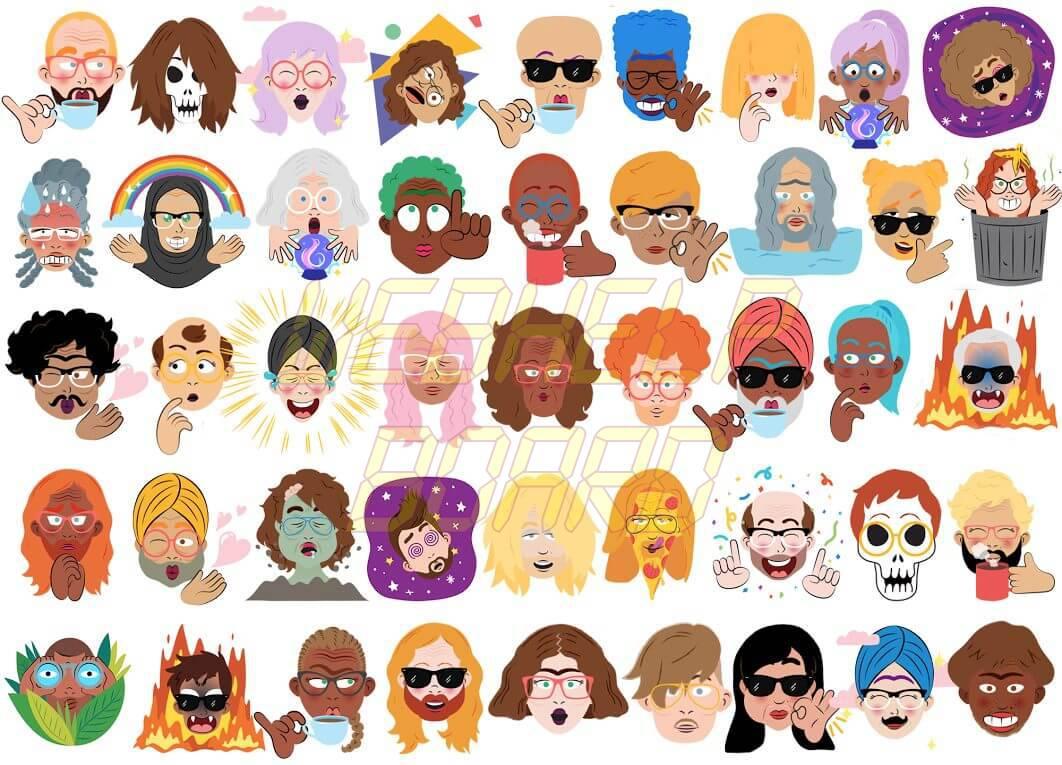 eyck pure random 1 - Google Allo cria pacote de stickers personalizados com a sua selfie