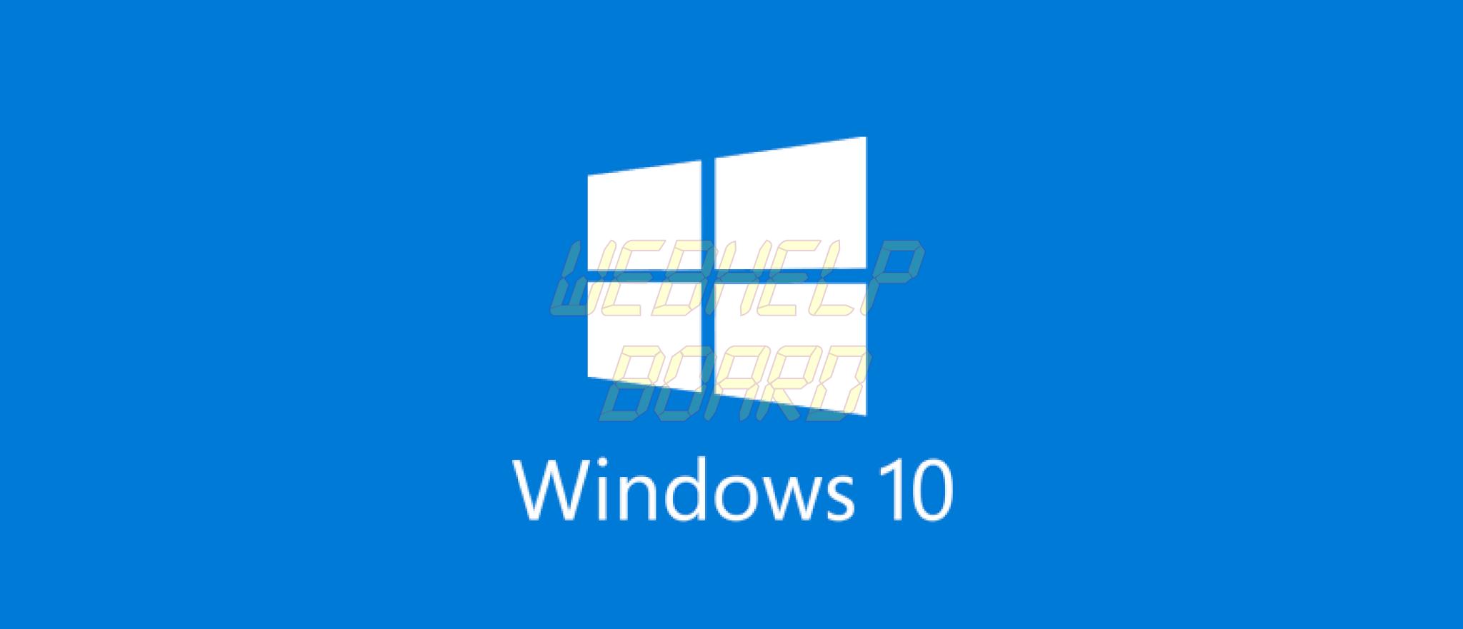 windows 10 logo 1 - Confira soluções para problemas na instalação de atualizações do Windows 10