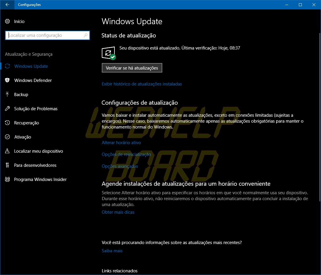 windows update 02 - Windows 10 April 2018 Update: como atualizar seu computador