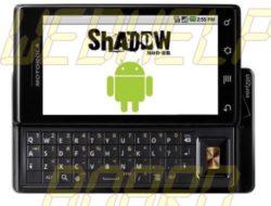 Descargar: ShadowMOD-BR v2.3.2b1 para Motorola Milestone (¡Sí, es el pan de jengibre!)