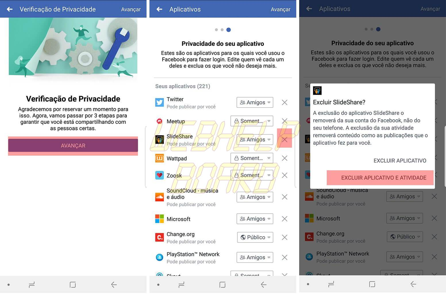 facebook 1 - Como garantir que o Facebook não distribua seus dados