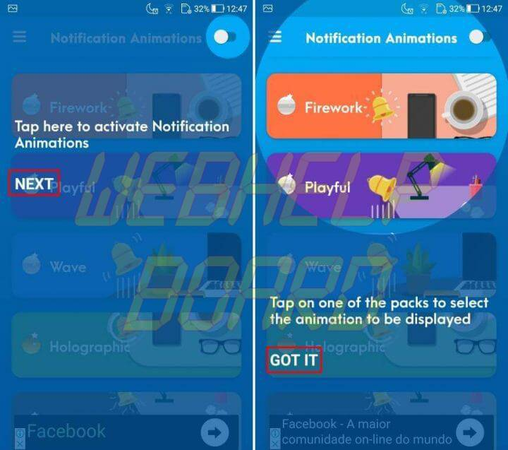 tutorial 1 720x637 - Como usar o Notification Animations para ter efeitos animados no Android
