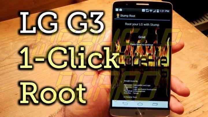 Stump Root LG G3 acesso 720x405 - Tutorial: Acesso Root, Xposed, G3 Tweak Box e instalação de atualizações no LG G3