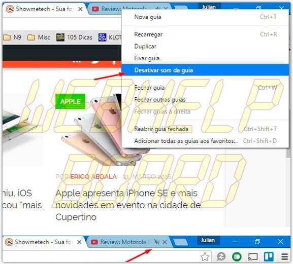 desativar som da guia chrome - Google Chrome: 10 dicas para você usar melhor o navegador