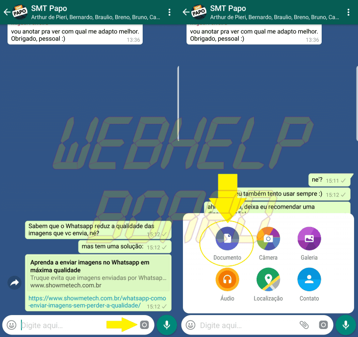 imagem alta resolucao whatsapp 720x677 - Como enviar imagens em alta qualidade no Whatsapp