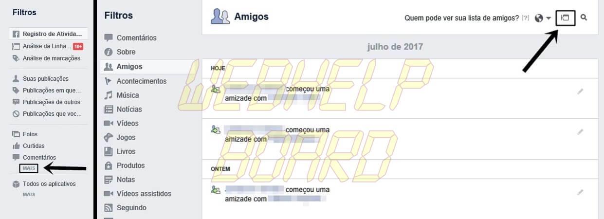 tuto face 03 04 - Facebook: como impedir que amigos saibam quem você adiciona