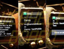 Galaxy Gear: nuevas notificaciones taz full de actualización para todas las aplicaciones