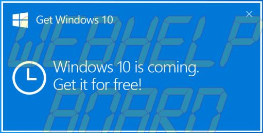 win10 - Tutorial: Removendo o ícone de atualização do Windows 10