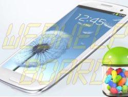 Brazilian Galaxy SIII recibe la actualización de Android Jelly Bean (GT-i9300)