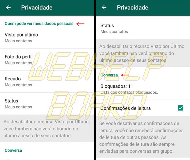 Showmetech tutorial whatsapp configuracoes de privacidade acessando itens de privacidade e seguranca 03 1 720x605 - Tutorial: como manter a privacidade no WhatsApp, sem perder a graça.