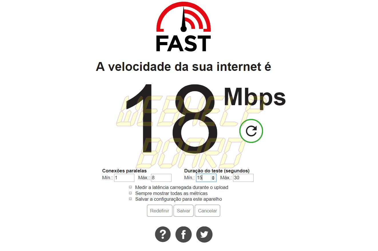 4 - Saiba como usar o FAST, da Netflix, para medir a velocidade de sua internet