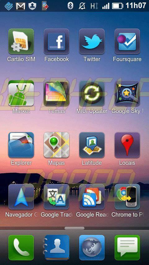 MIUI ROM BR 2 - Instale a MIUI ROM Brasileira no Motorola Milestone e HTC Desire