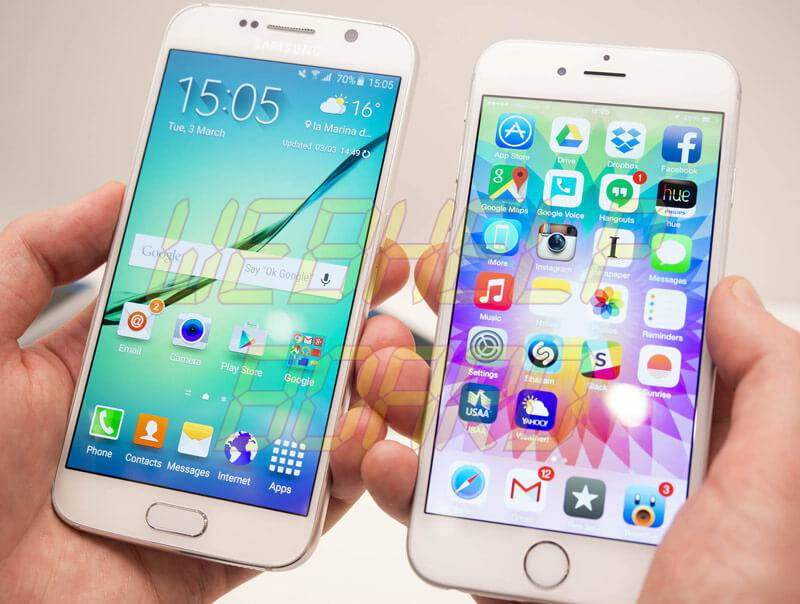 DISPLAY – iPhone 7 VS Galaxy S7 - Como transferir o backup do WhatsApp do iPhone para Android