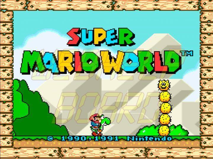 Emulador Super Nintendo no Xbox One rodando Super Mario World 720x540 - Aprenda a rodar jogos clássicos do SNES, Mega Drive e GBA com emulador no Xbox One