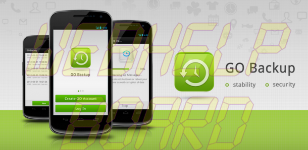 Go Backup 610x298 - Faça o backup completo dos seus aplicativos e dados no Android com GoBackup