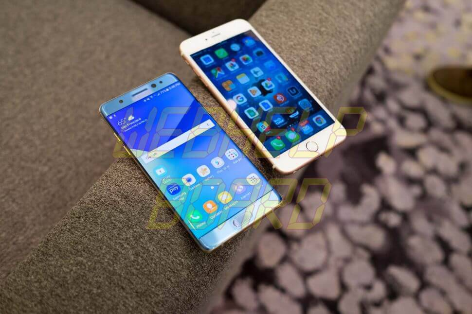 Samsung Galaxy Note 7 vs. Apple iPhone 6s Plus - Como transferir o backup do WhatsApp do iPhone para Android