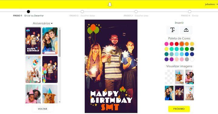 filtro geográfico sob demanda no Snapchat 720x378 - Tutorial: aprenda a criar um filtro geográfico personalizado no Snapchat