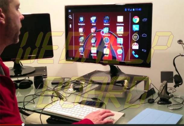 galaxy nexus pc 610x416 - Transformando seu Galaxy Nexus em um PC completo