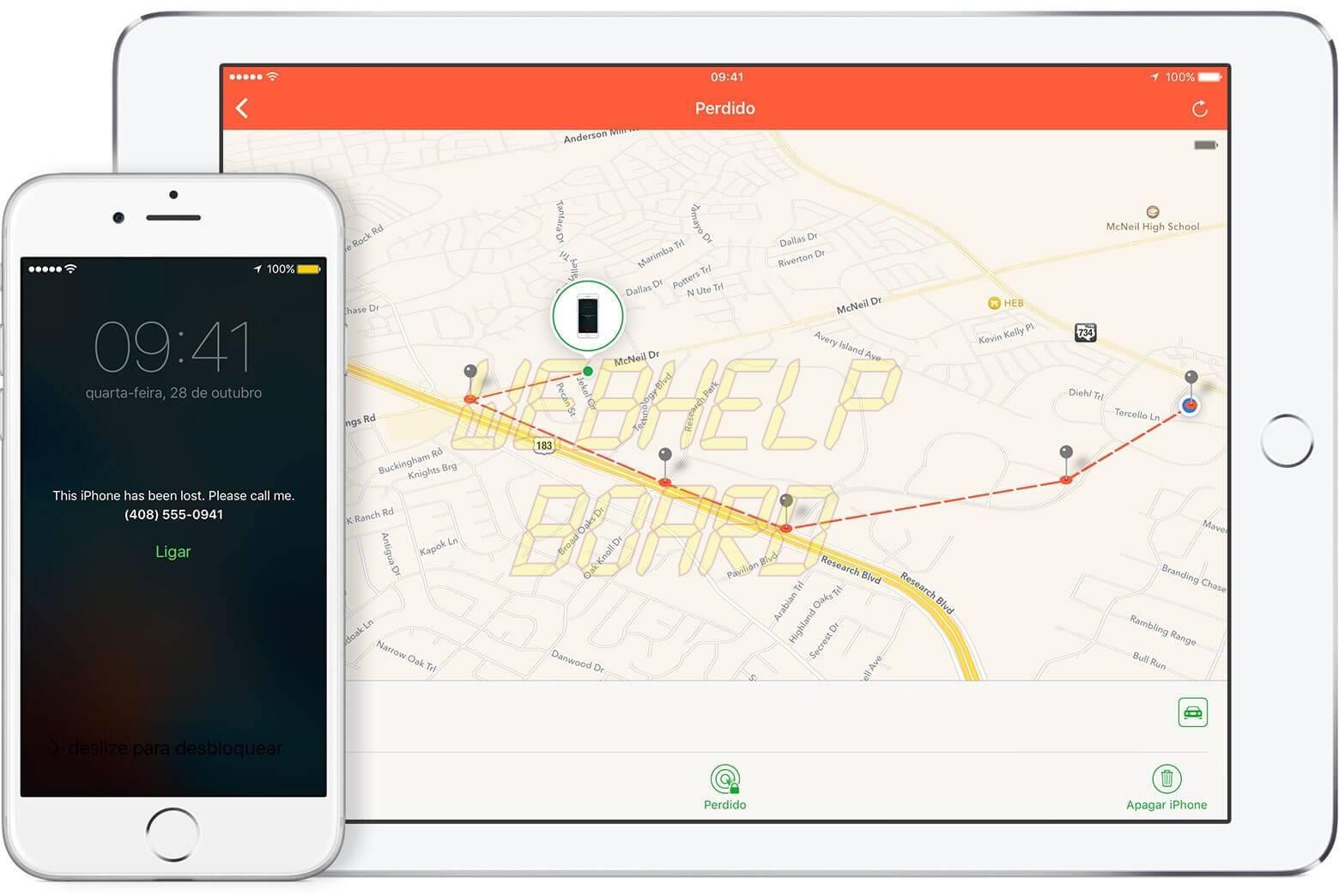 ios9 lost mode track device - Tutorial: Roubaram meu iPhone. O que fazer?