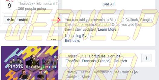 2 - Aprenda a sincronizar eventos do Facebook com o Google Calendar