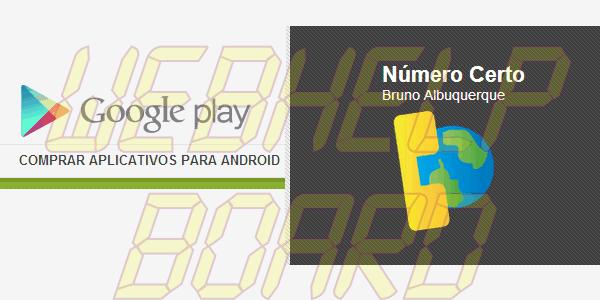 Google Play Numero Certo - Tutorial: Número Certo