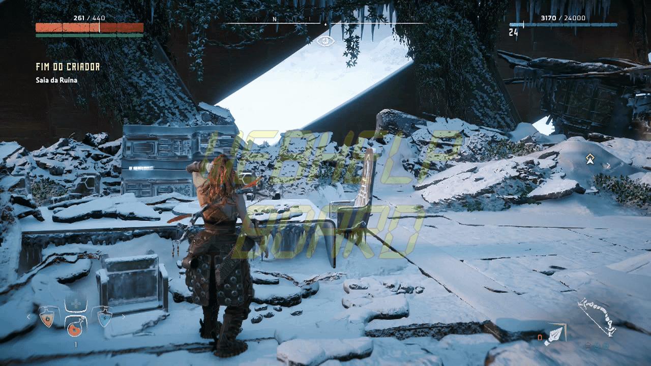 Horizon Zero Dawn Captura de Tela 2017 07 30 17 07 36 fim do criador - Horizon Zero Dawn: Veja como conseguir o melhor traje do jogo