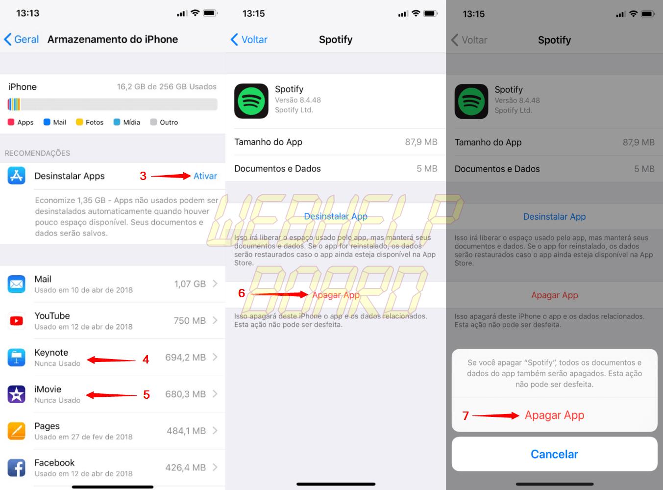 asdasd - Como liberar espaço para fotos e vídeos no seu iPhone ou iPad