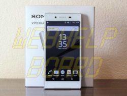 Cómo tomar capturas de pantalla en Sony Xperia Z5