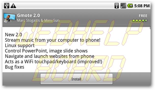 sshot413 - [Tutorial] Controle seu PC com Android