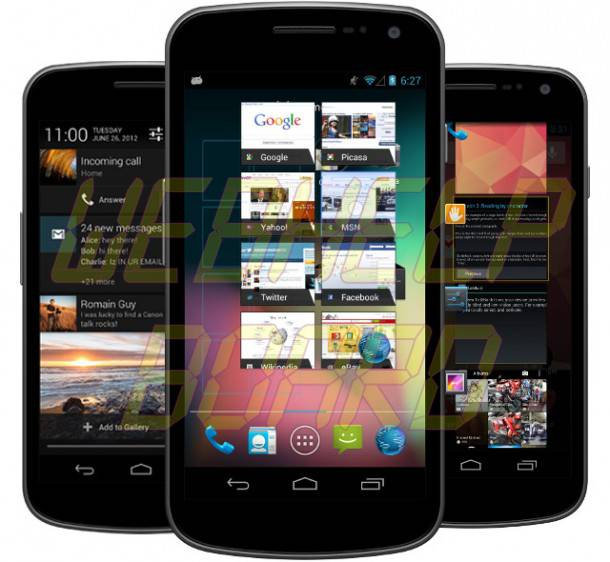 Jelly Bean 610x562 - Tutorial: atualizando seu Galaxy Nexus para o Android 4.1 Jelly Bean