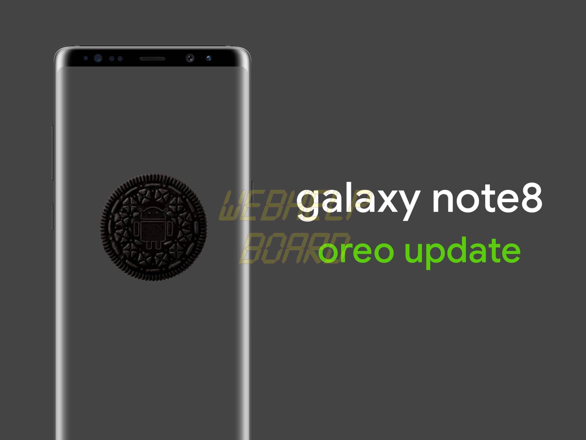 Galaxy Note8 Oreo update - Tutorial: como instalar o Android Oreo 8.0 no Galaxy Note 8