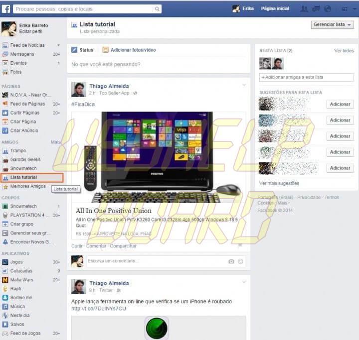 face6 720x683 - Tutorial: como não perder atualizações dos seus amigos no Facebook