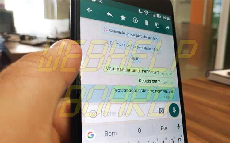 5 2 - Como apagar só vídeos, imagens ou áudios de uma conversa no WhatsApp