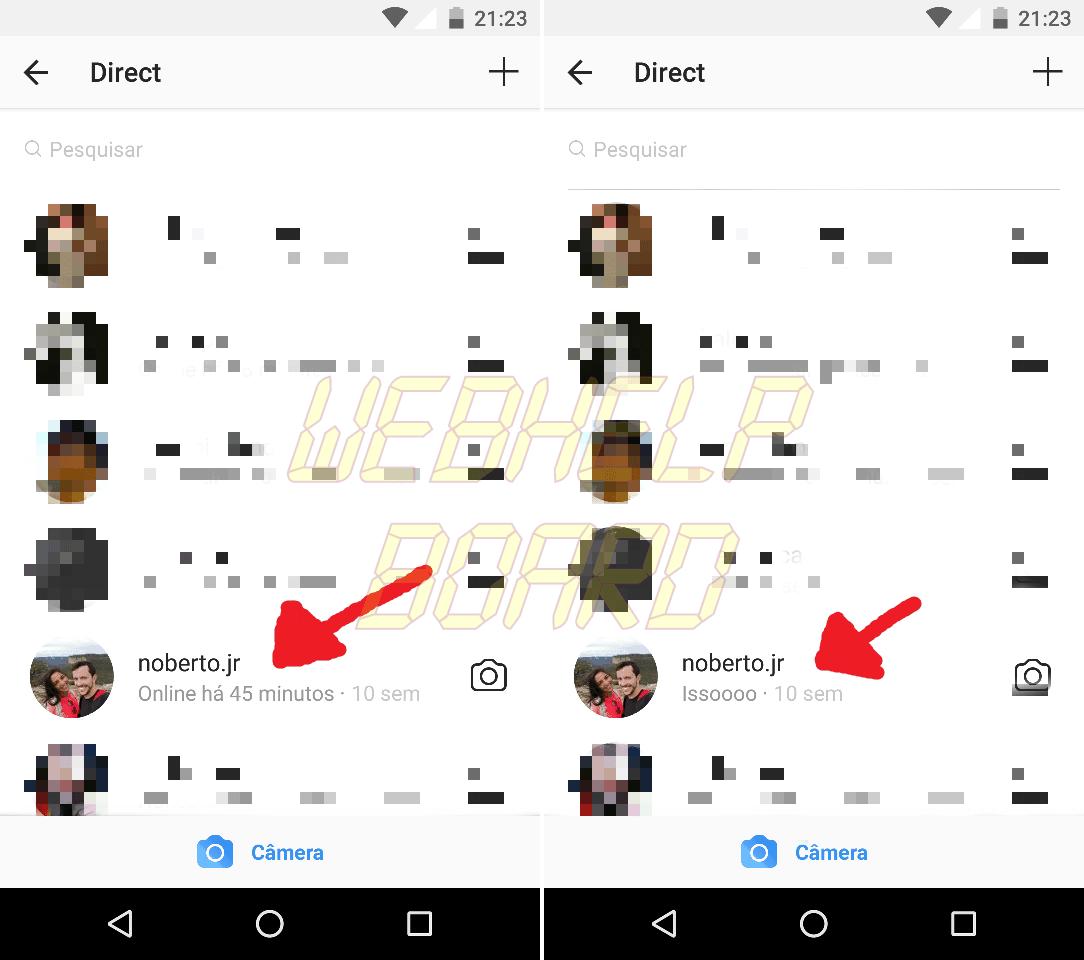 BlurImage 22 1 2018 9 28 1 - Desative a opção de status de atividade do Instagram e evite stalkers