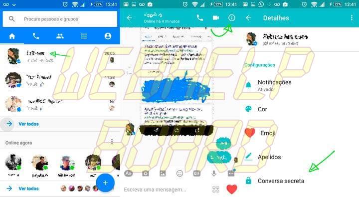 Conversa secreta messenger 720x395 - Tutorial: aprenda a enviar mensagens secretas no Facebook Messenger