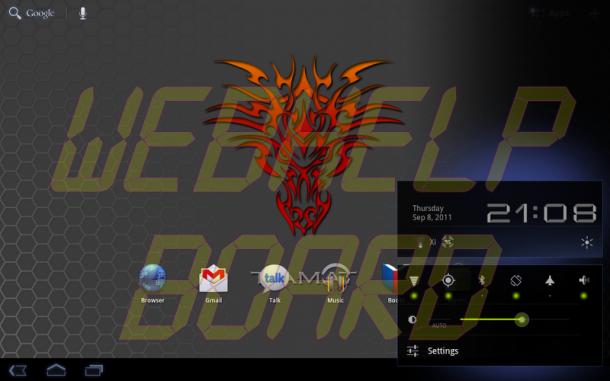 device 2011 09 08 2108441 610x381 - Motorola XOOM: nova atualização da ROM Tiamat 2.2.1 (Android Honeycomb 3.2.2)