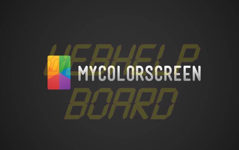 mycolorscreen - Tutorial: compartilhe suas telas e apps com o MyColorScreen