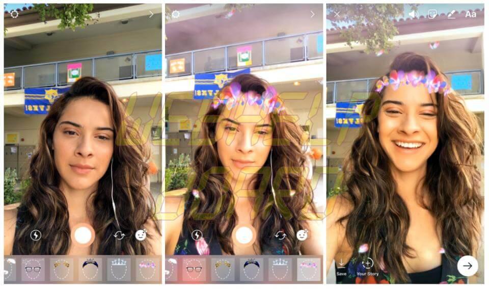 FACE FILTERS 1200x710 - Instagram Stories ataca Snapchat e apresenta Filtros de Rosto