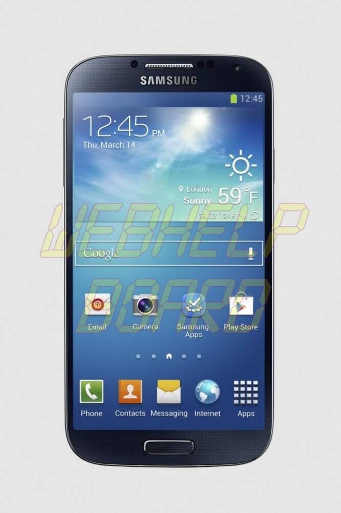 GS4 black front 01 1 682x1024 666x1000 - Atualização oficial Android 4.3 Jelly Bean já está disponível para o Galaxy S4