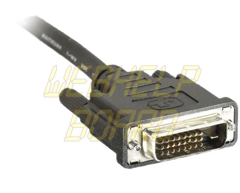 cabo dvi - HDMI, DisplayPort, DVI, VGA ou Vídeo Componente… qual é o melhor?
