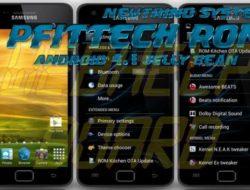 Neutrino System PFittech Android 4.1.1 Jelly Bean para el Samsung Galaxy S2 GT-i9100