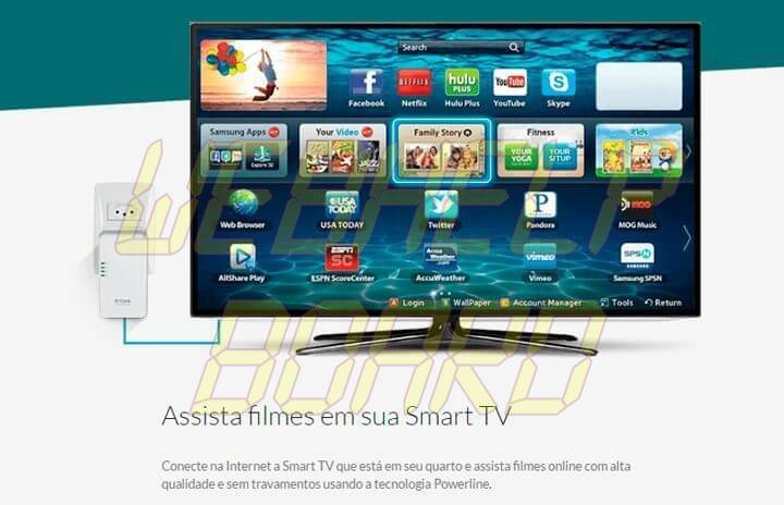 powerline smart tv 720x464 - Powerlines e Repetidores Wi-Fi: qual é o melhor?