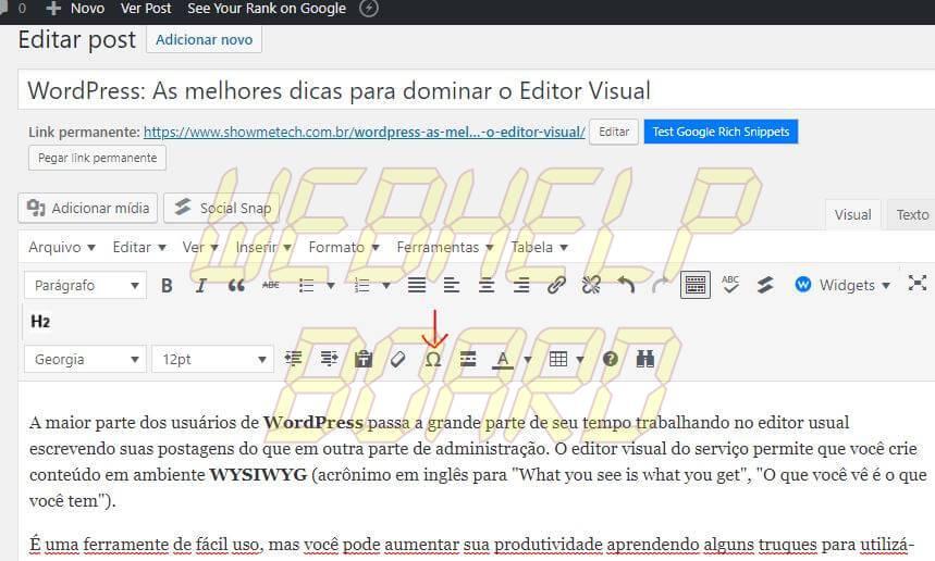 6 1 - WordPress: melhores dicas para entender recursos e criar posts