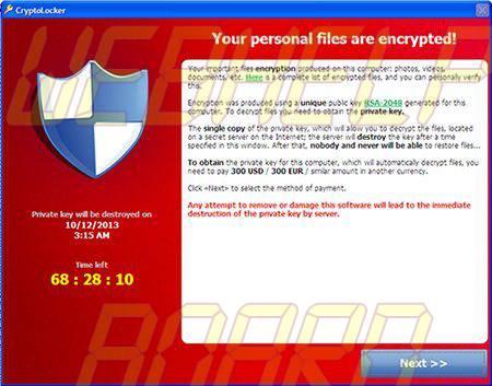 cryptolocker2 - Ransomware: saiba o que é e como se proteger desse tipo de malware