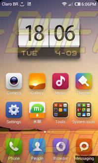 miui homescreen - REVIEW : ROM MIUI v5 Style Beta 3.0 para o Samsung Galaxy S2 GT-i9100