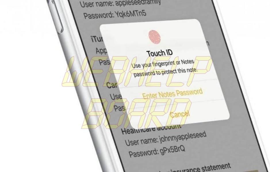 notas iphone ios 9 3 - Tutorial: Como bloquear uma nota no iPhone ou iPad